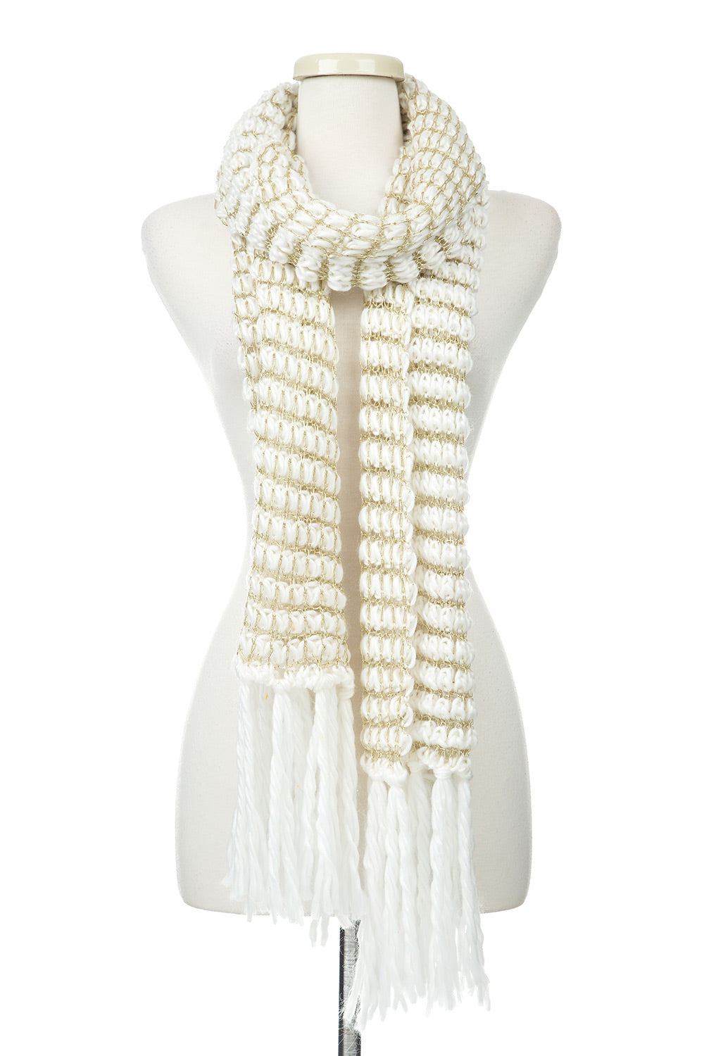 Type 1 Knit Netting Scarf