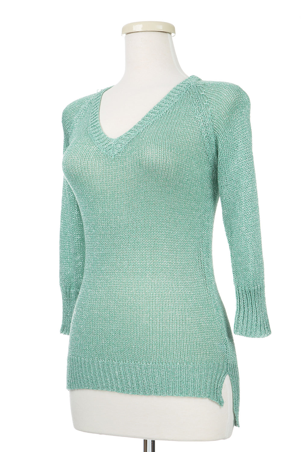 Type 2 Mint Sparkle Sweater