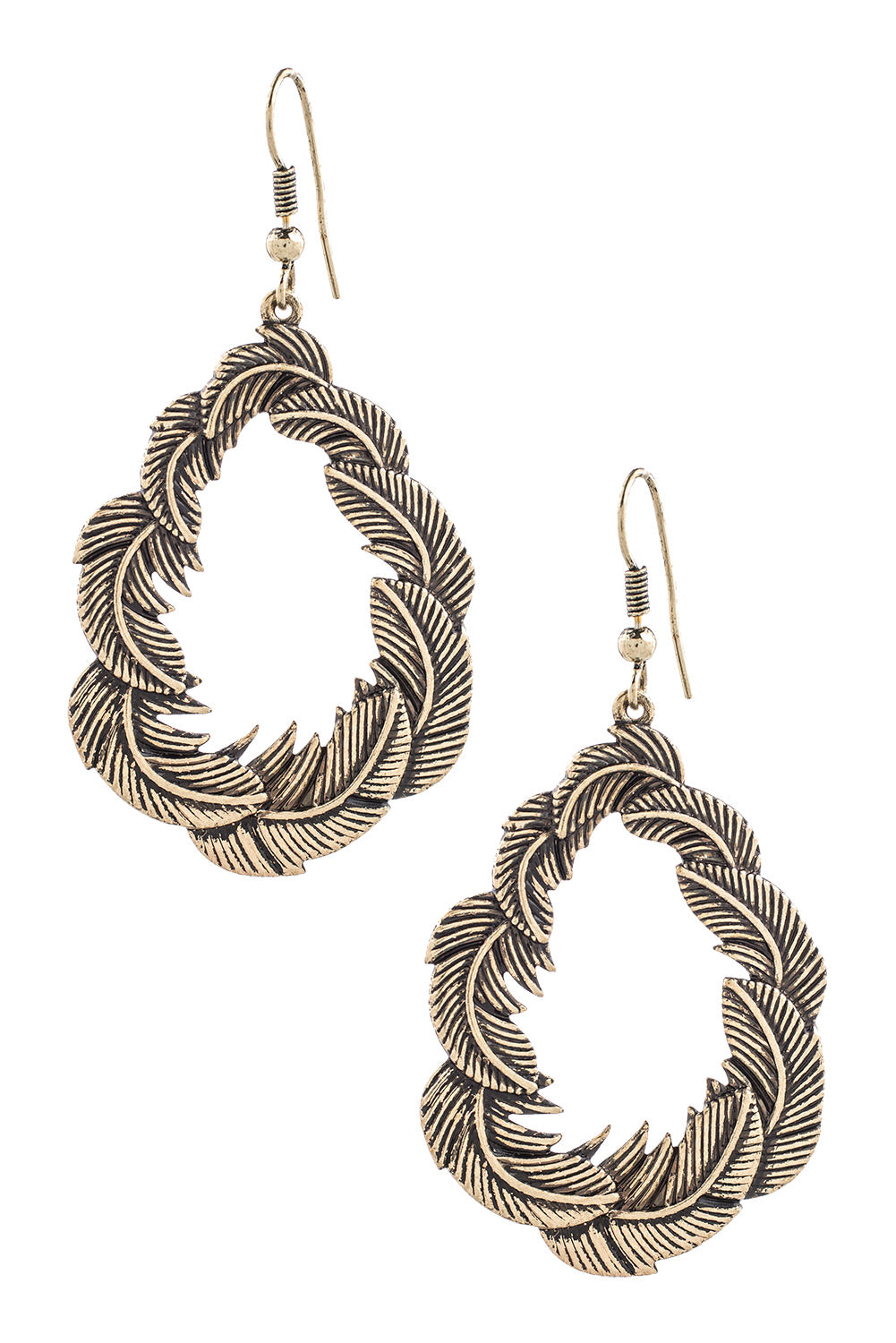 Type 3 Angel Feather Earrings