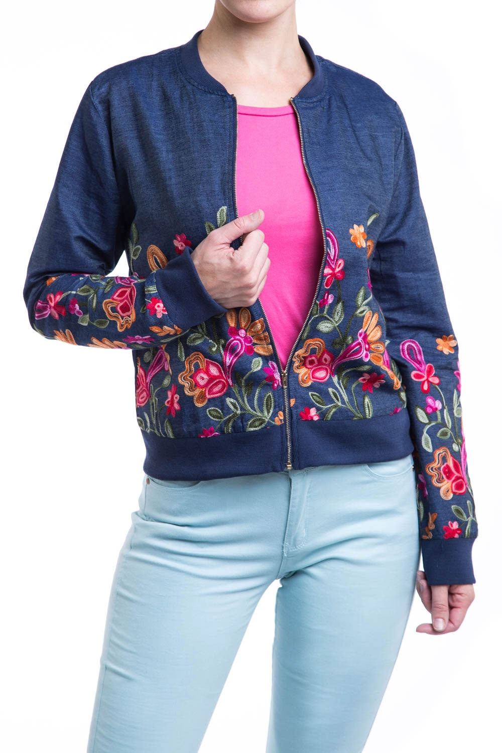 Type 1 Pop Of Floral Jacket