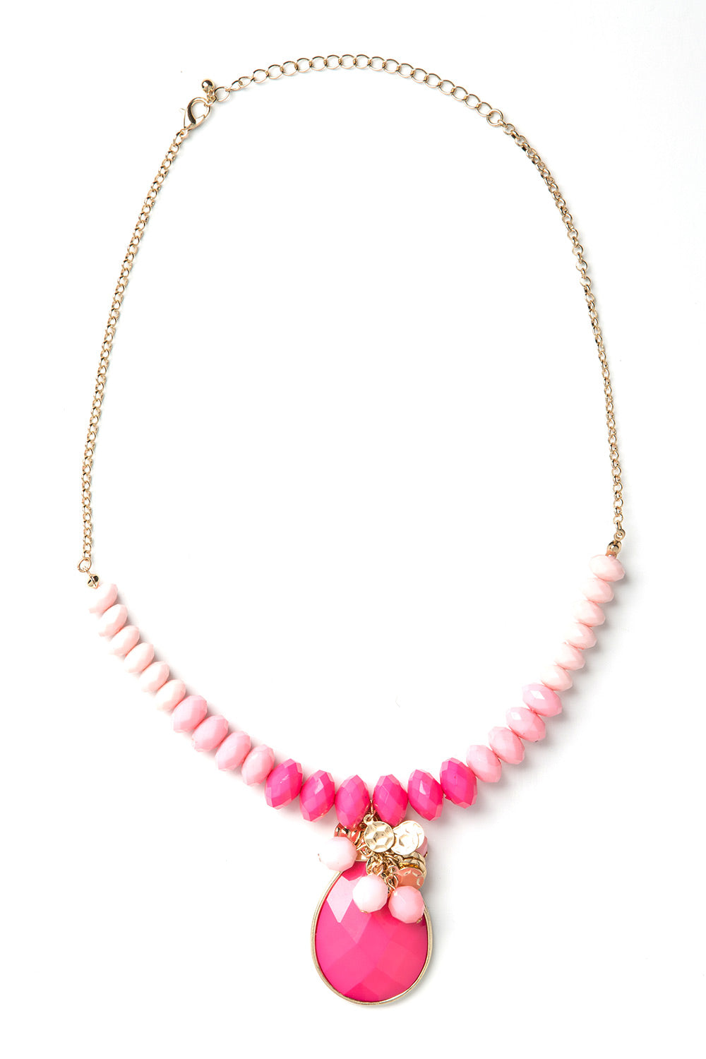 Type 1 Pink Ombre Necklace