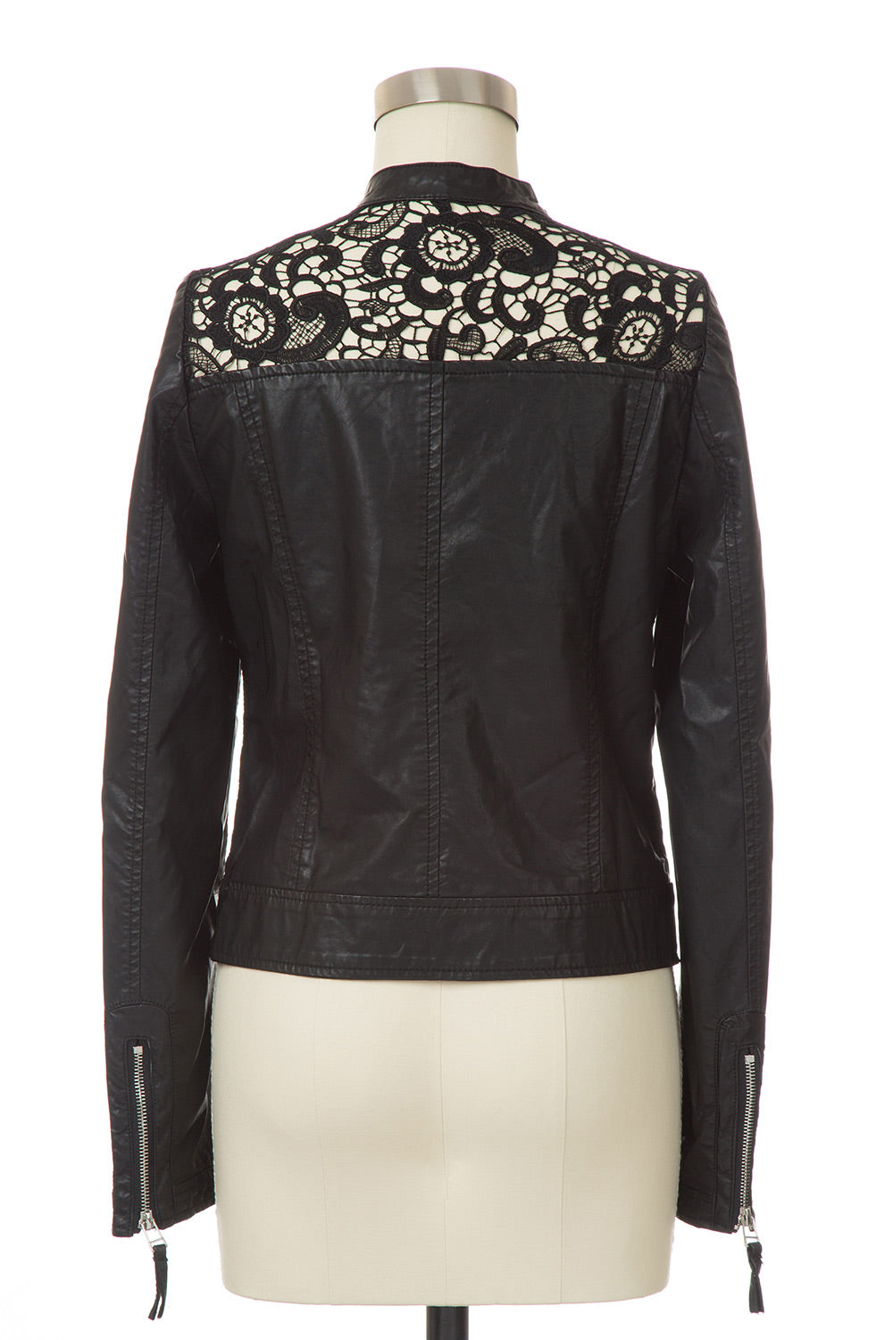Type 4 Leather and Lace Jacket