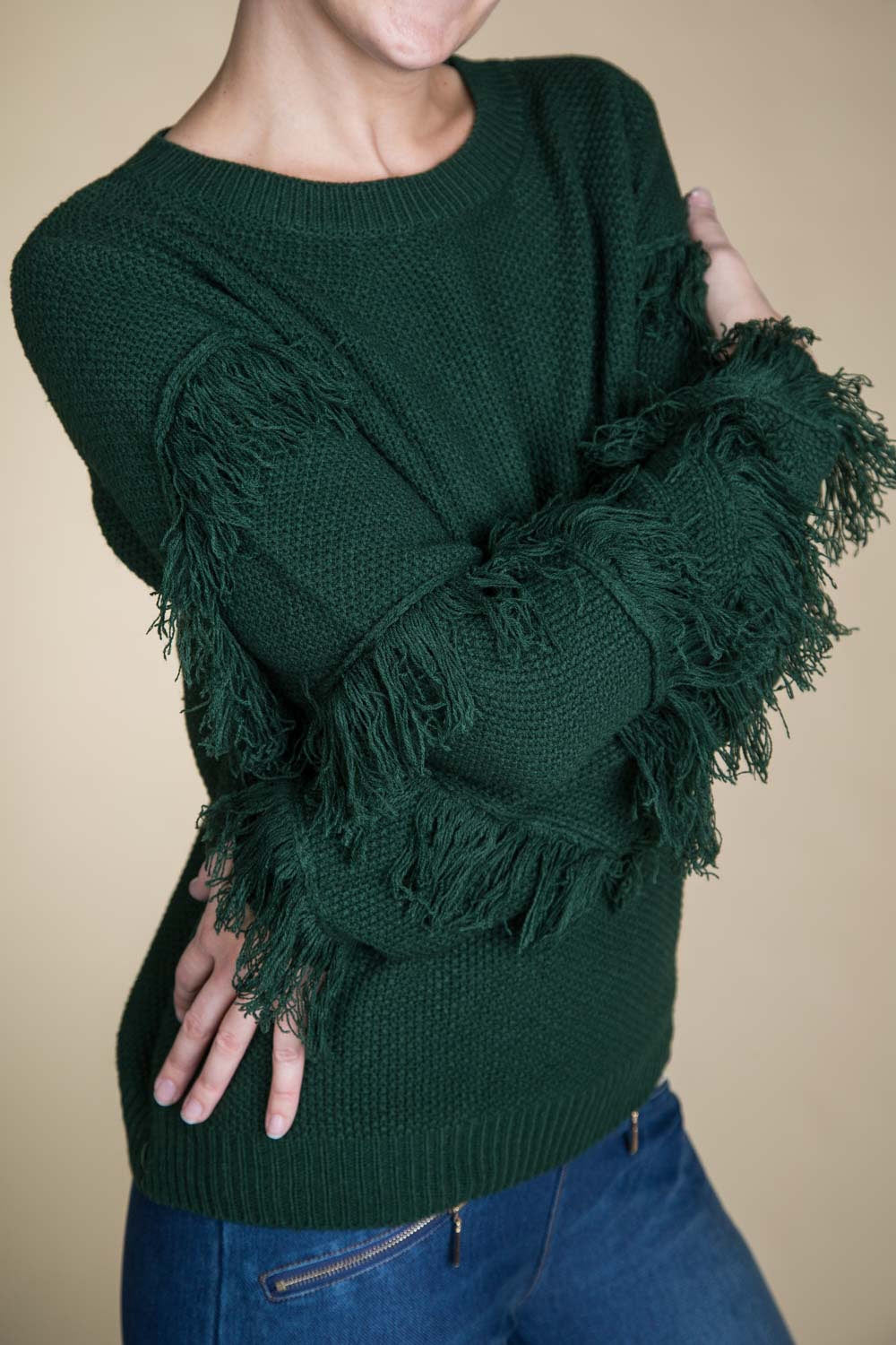 Type 3 Fringed Out Sweater