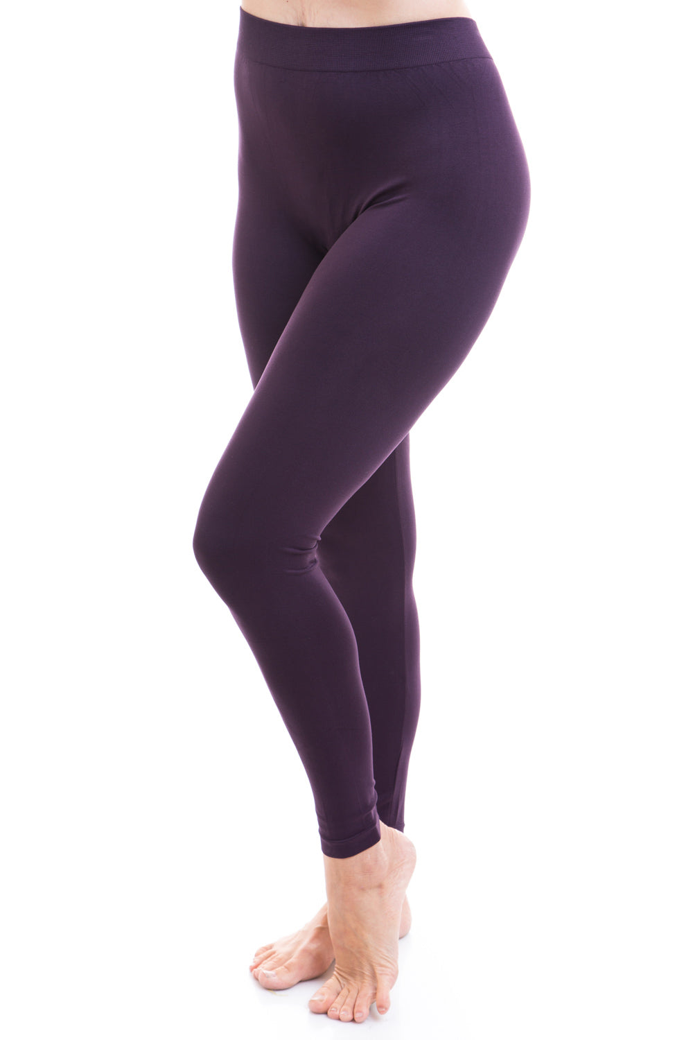 Type 2 PLUS Plum Purple Leggings