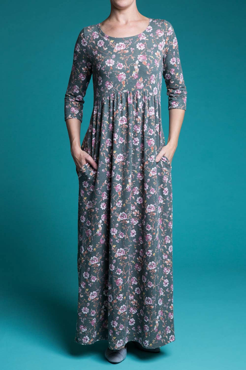 Type 2 Greens Garden Dress