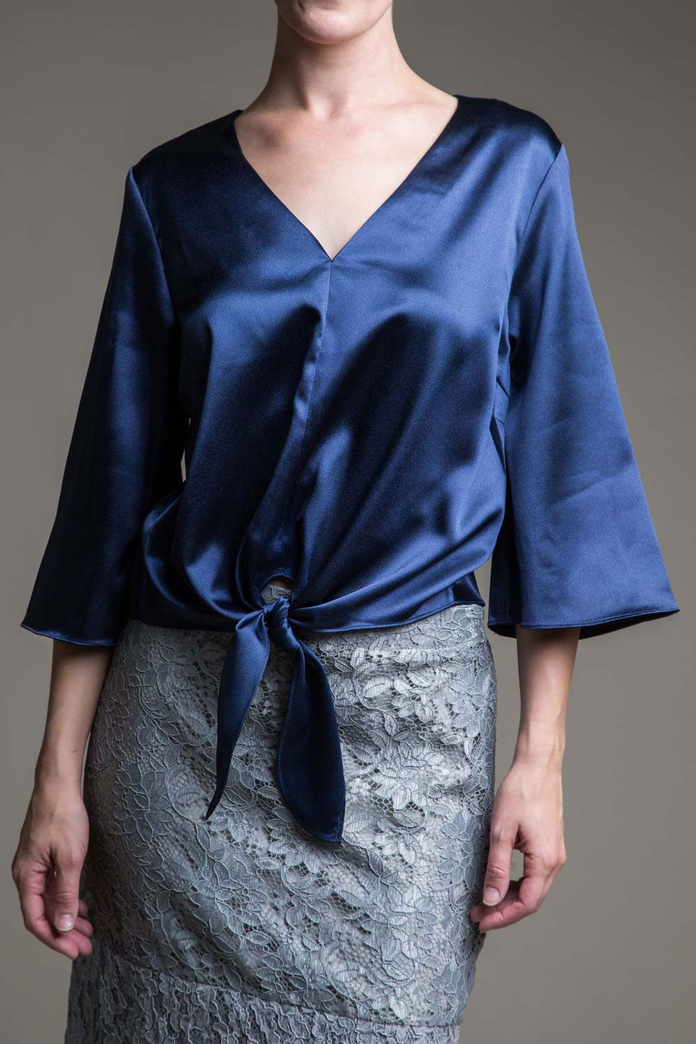 Type 2 Sateen Blue Top