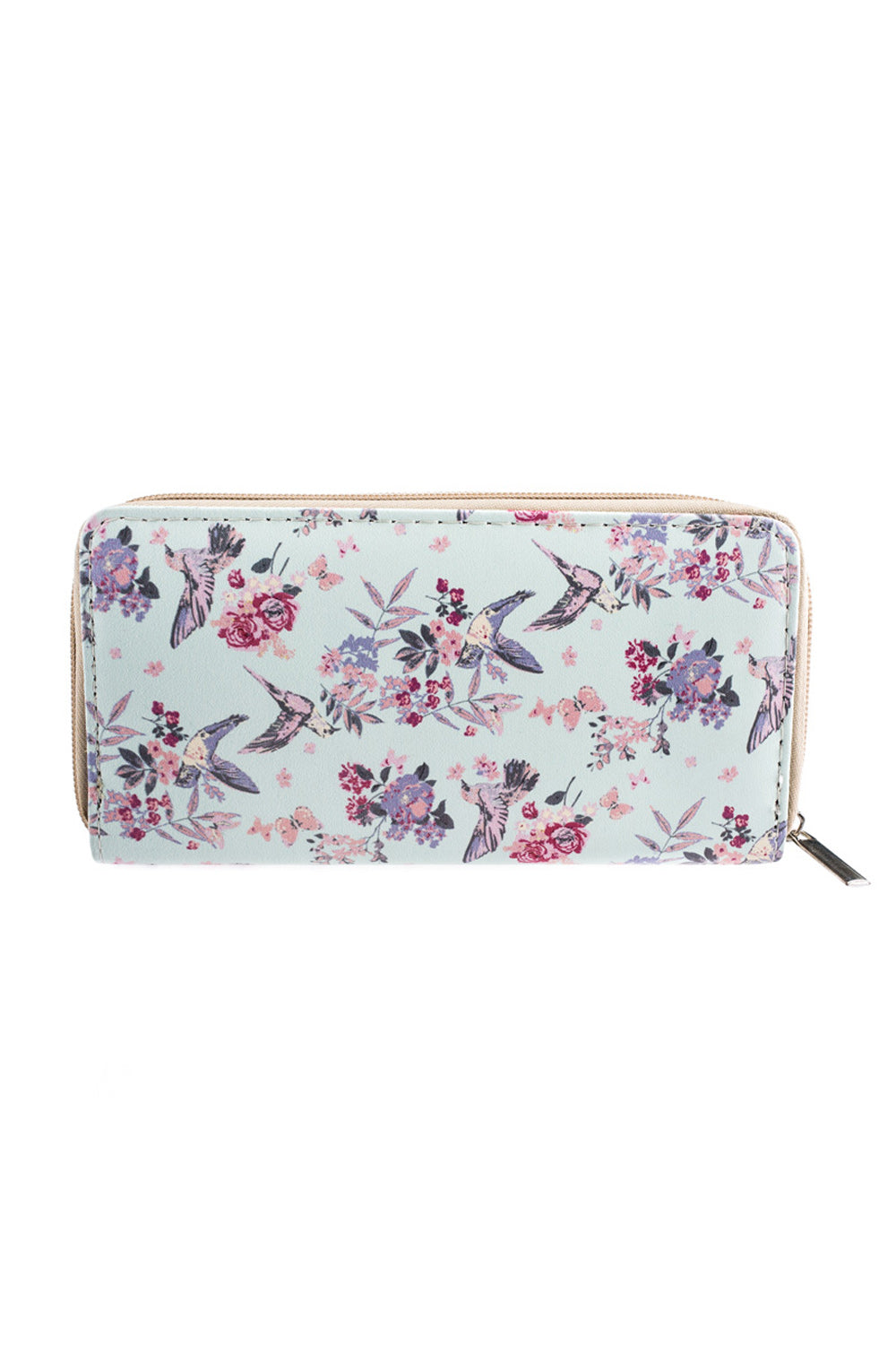 Type 2 Flying Floral Wallet