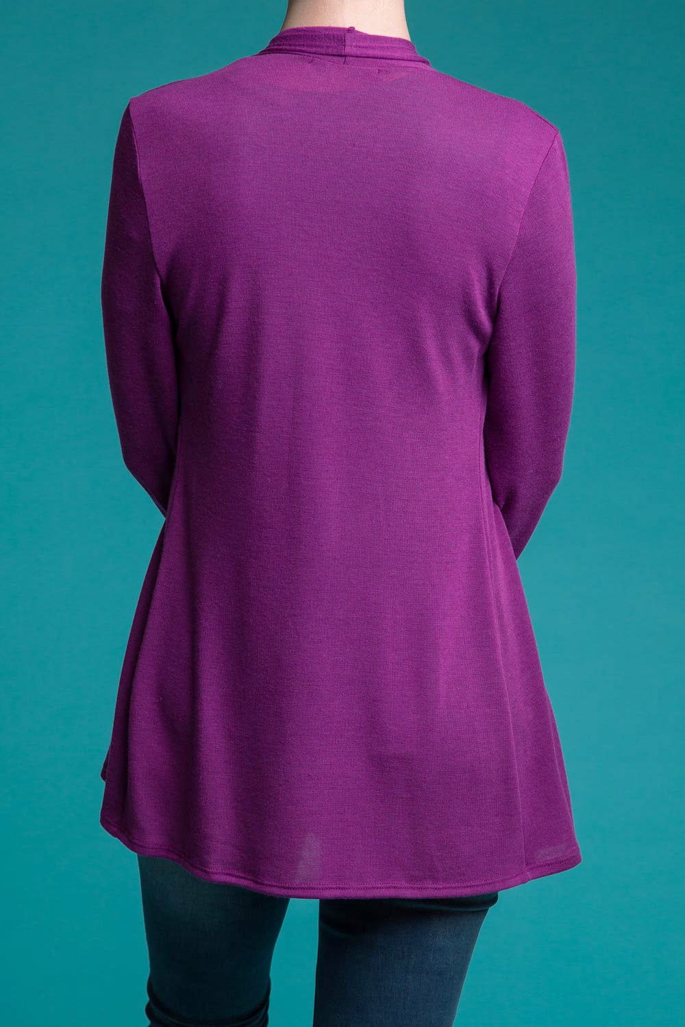 Type 3 My Kind Of Magenta Cardigan