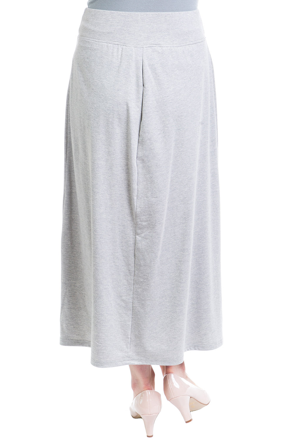 Type 2 Venus Skirt In Heathered Gray