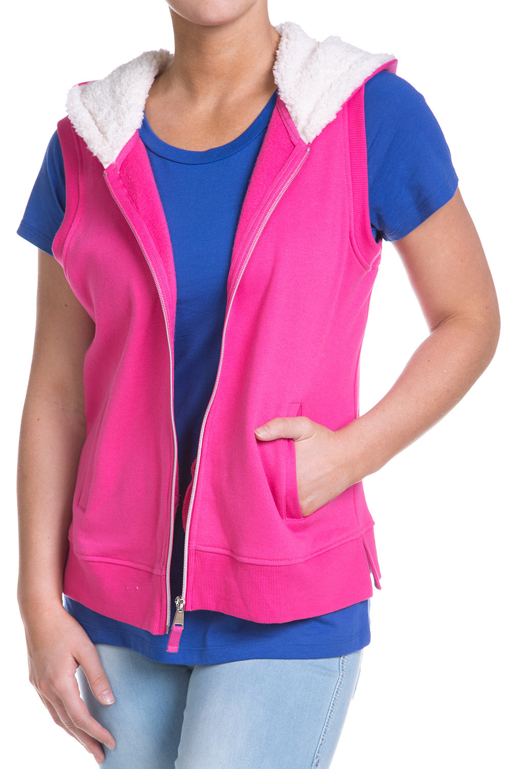 Type 1 Zipper Sparkle Vest
