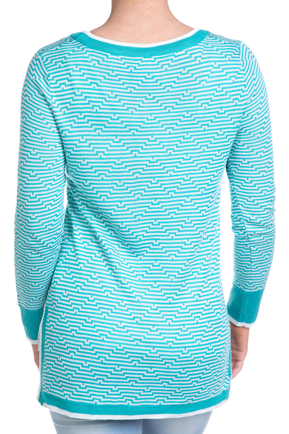 Type 1 Chevron Teal Top
