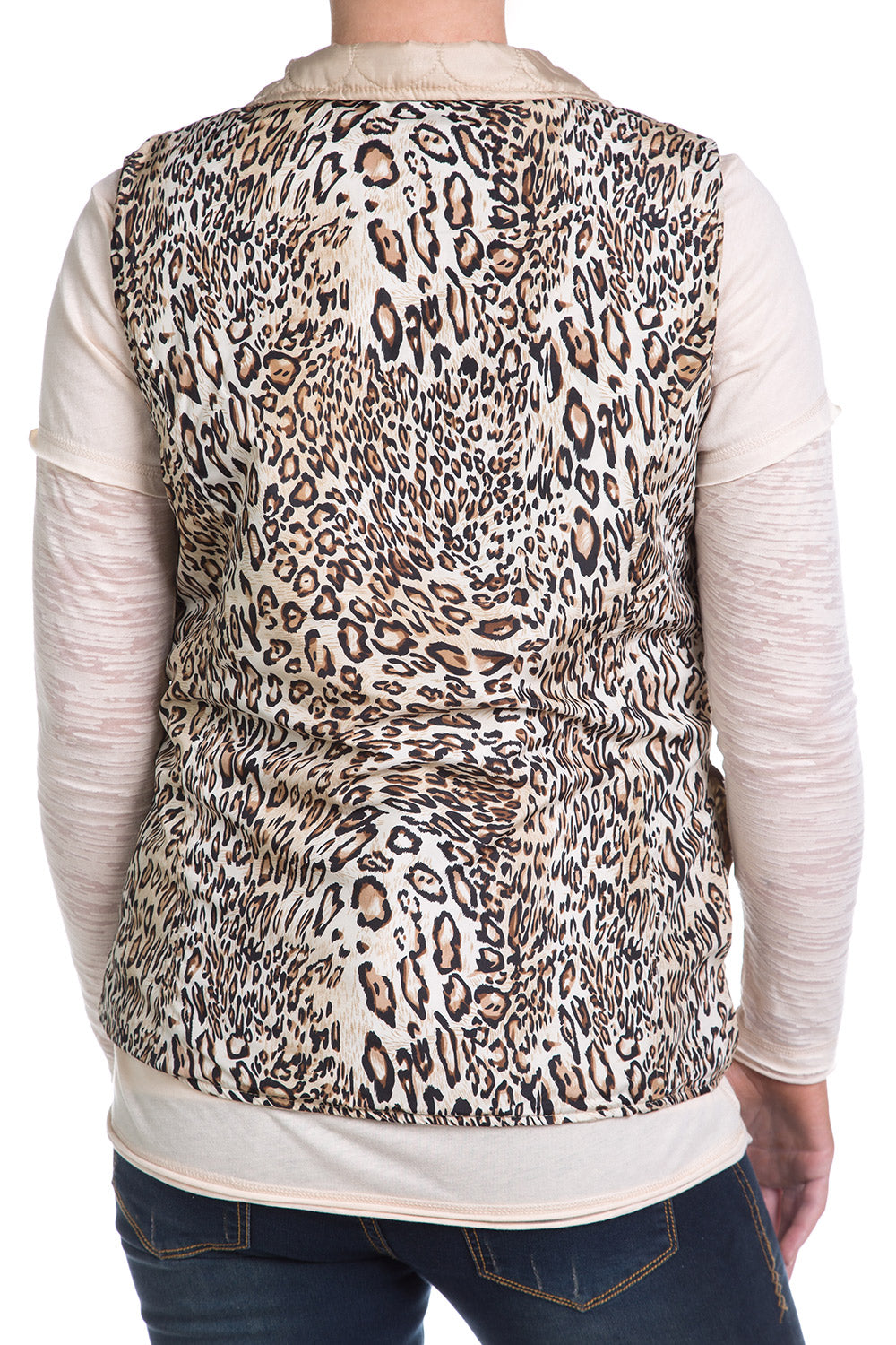 Type 3 Cheetah Gold Vest