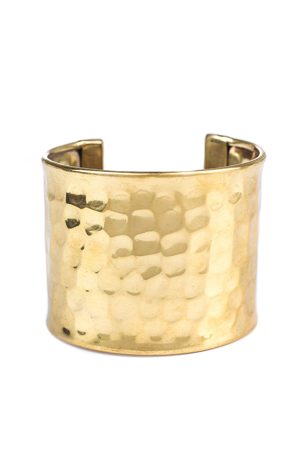 Type 3 Hammered Gold Bracelet