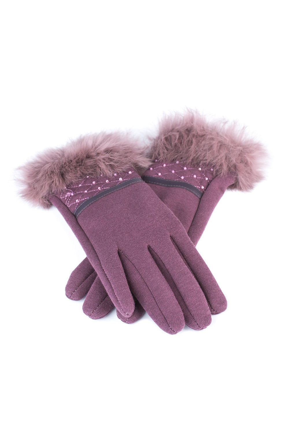 Type 2 Fitted Fur Gloves