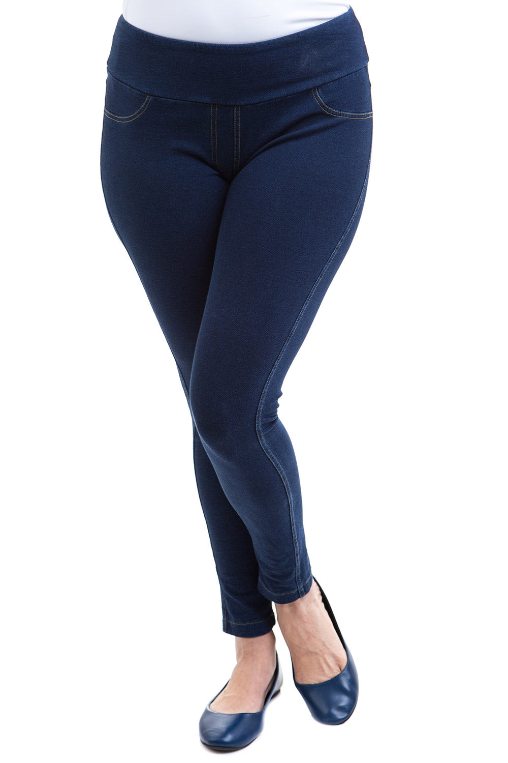 Type 1 Perfect Shape Slimming Pants in Blue