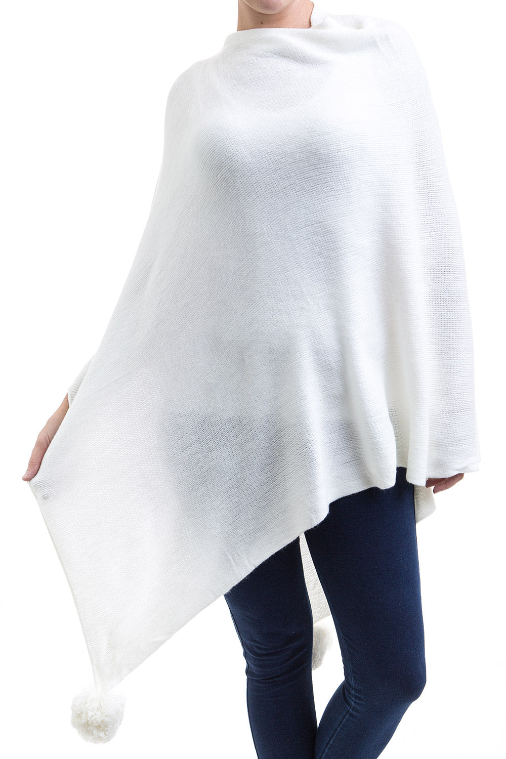 Type 1 White Winter Poncho