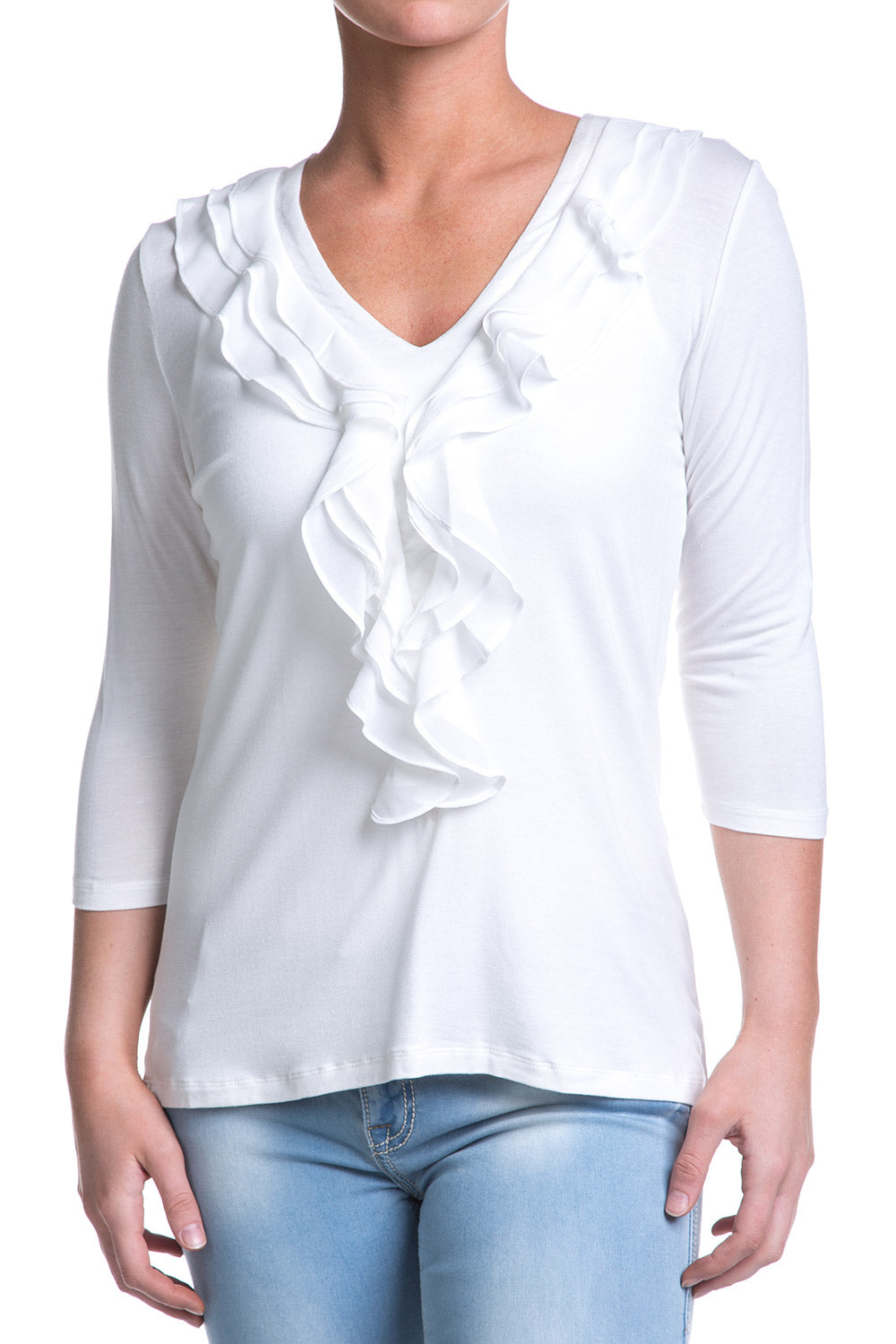Type 1 Ivory Inclined Top
