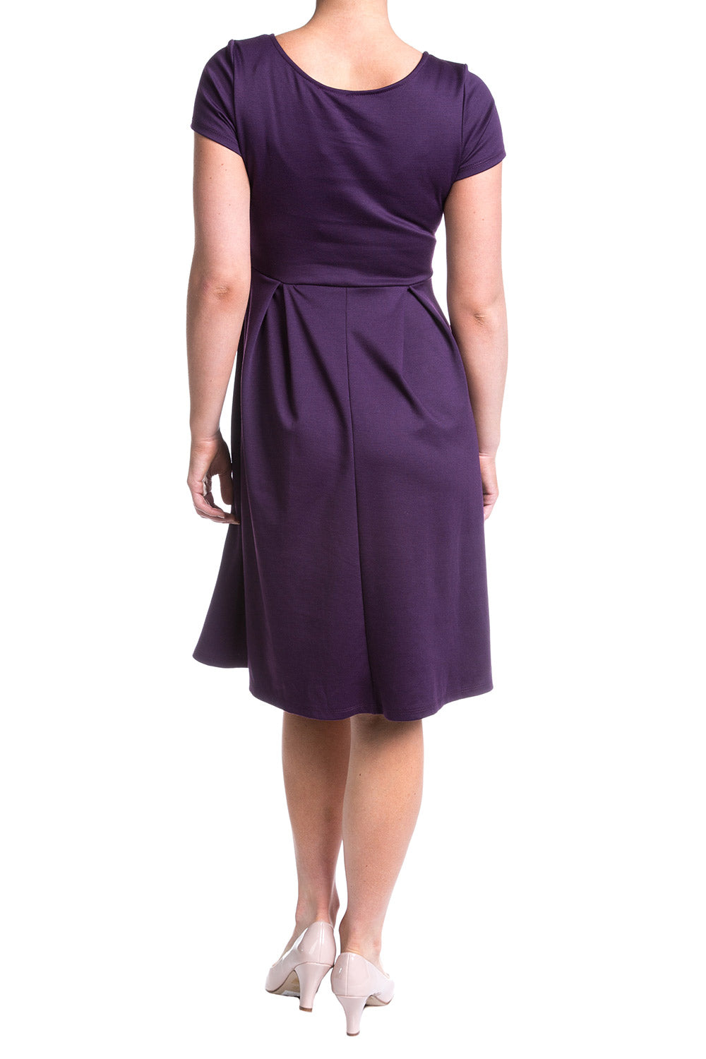 Type 2 To Life Dress In Eggplant
