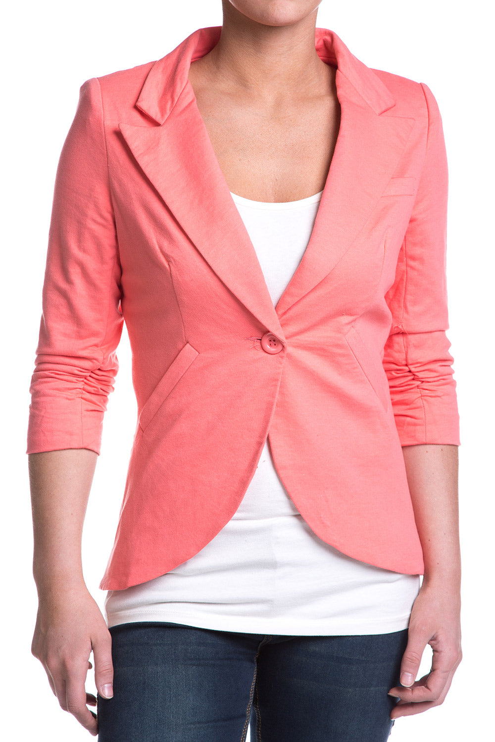 Type 3 Bozeman Blazer In Salmon