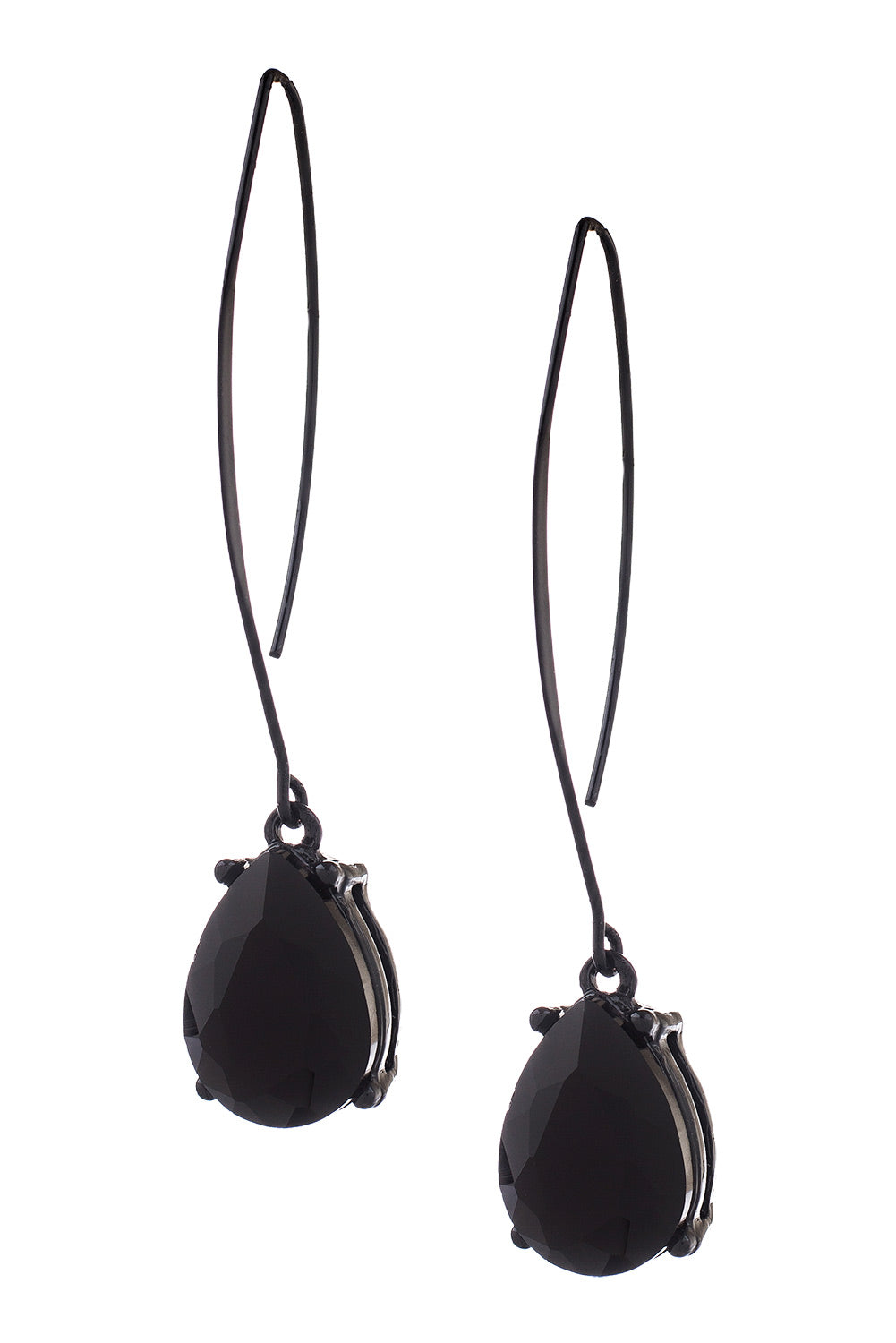 Type 4 Black As Coal Earrings