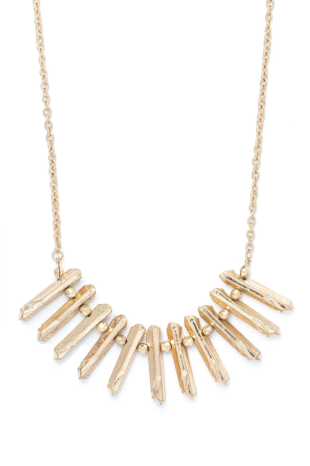 Type 3 Gold Nugget Necklace