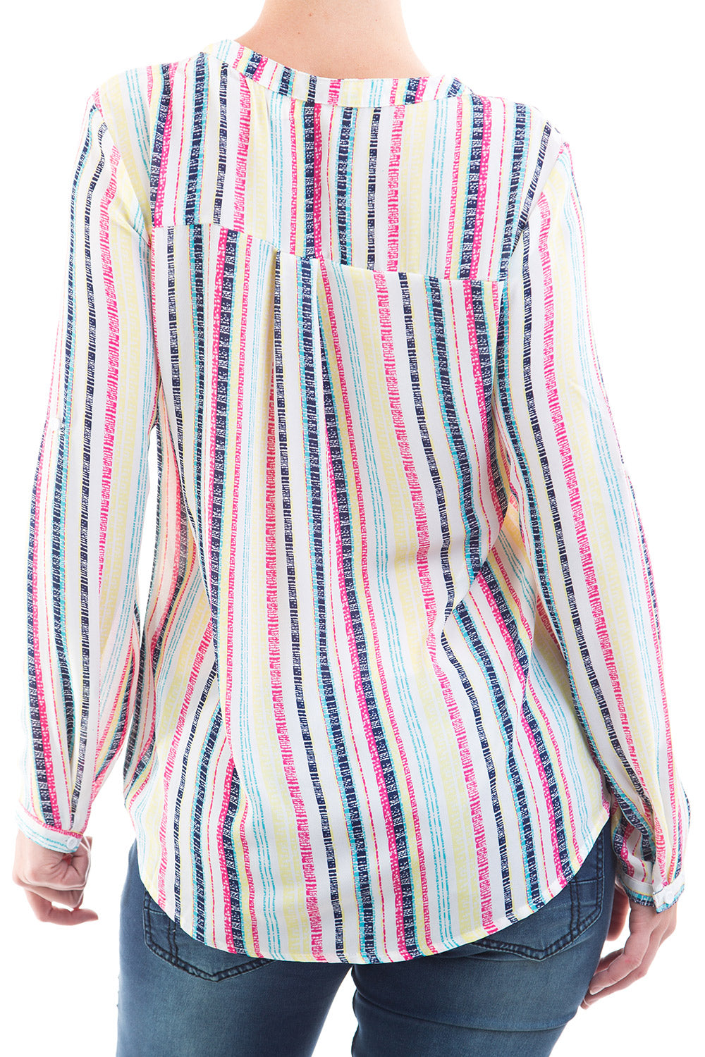 Type 1 Candy Stripes Top