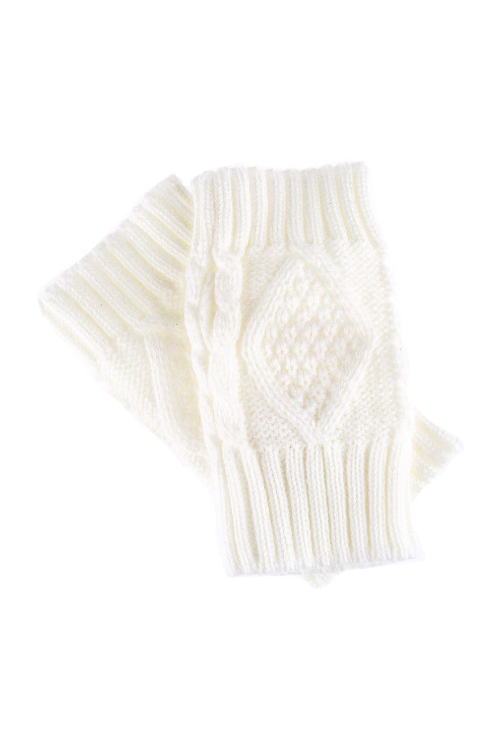 Type 1 Snow Paw Wrist Warmers In Ivory