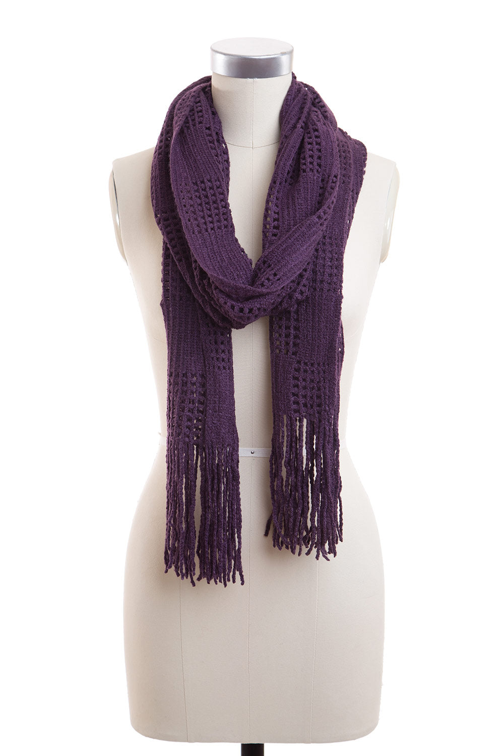 Type 2 Just Checking Purple Scarf