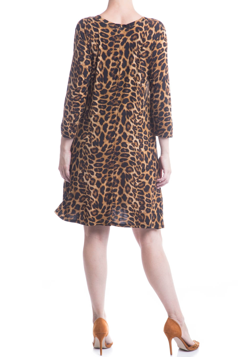 Type 3 Crouching Leopard Dress