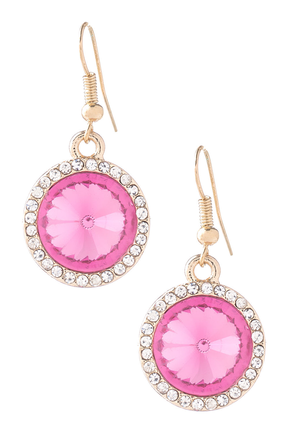 Type 1 Blooming Pink Blossoms Earrings