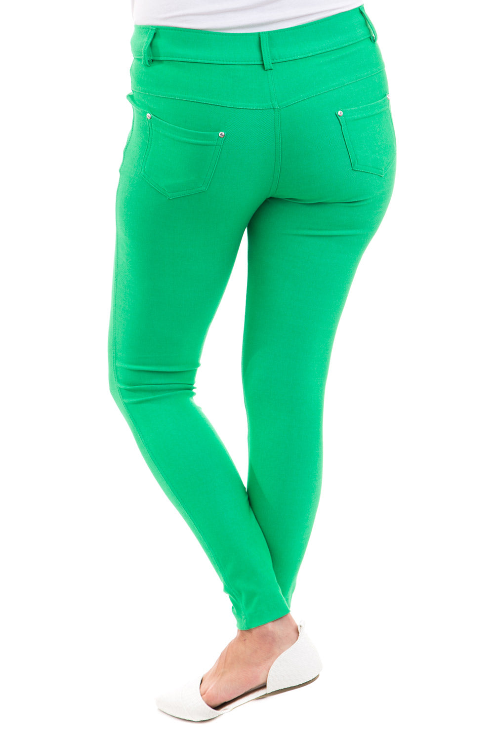 Type 1 Kelly Green Jeggings