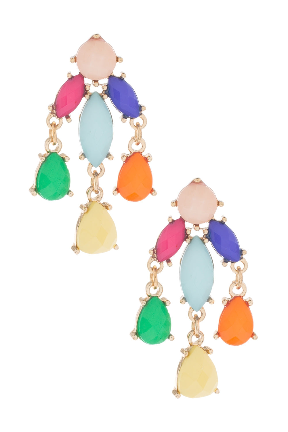 Type 1 Dripping With Color Earrings