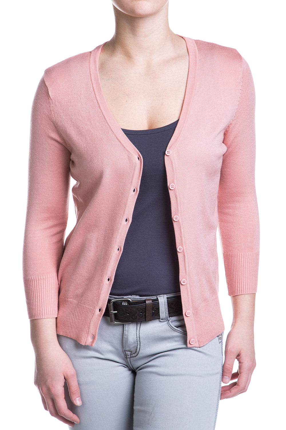 Type 2 Peach Beige Cardigan