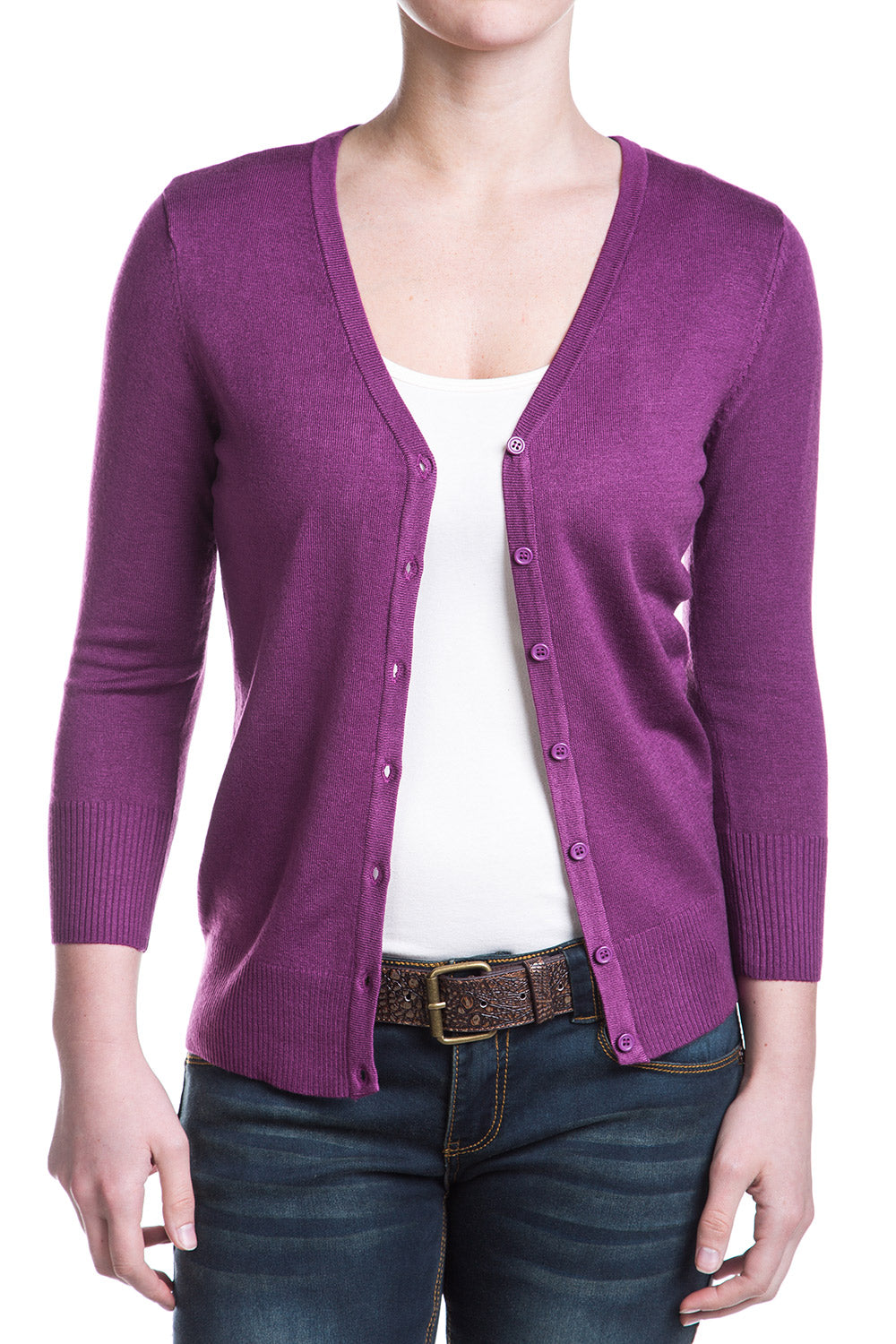 Type 3 Purple Cardigan
