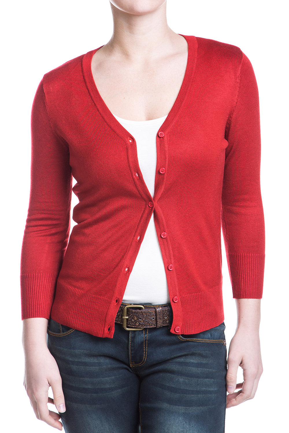 Type 3 Red Cardigan