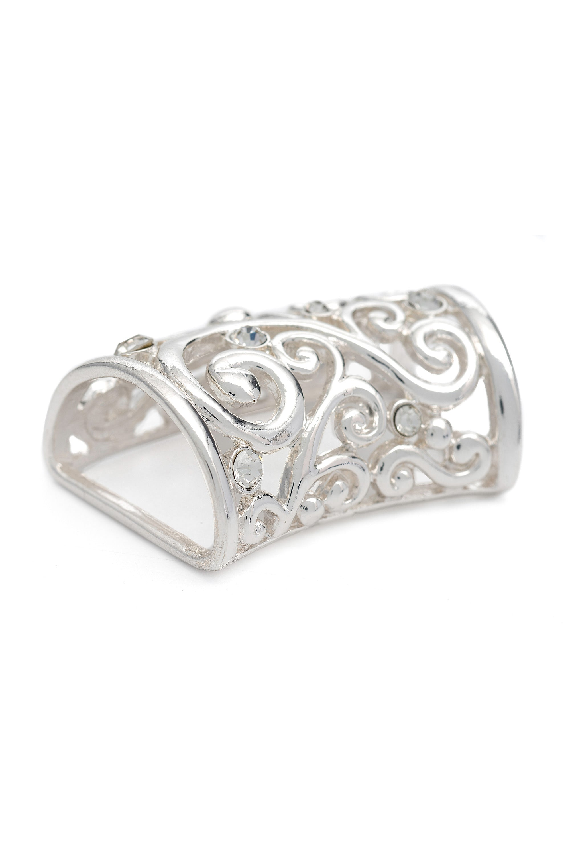 Type 2 Filigree Scarf Ring