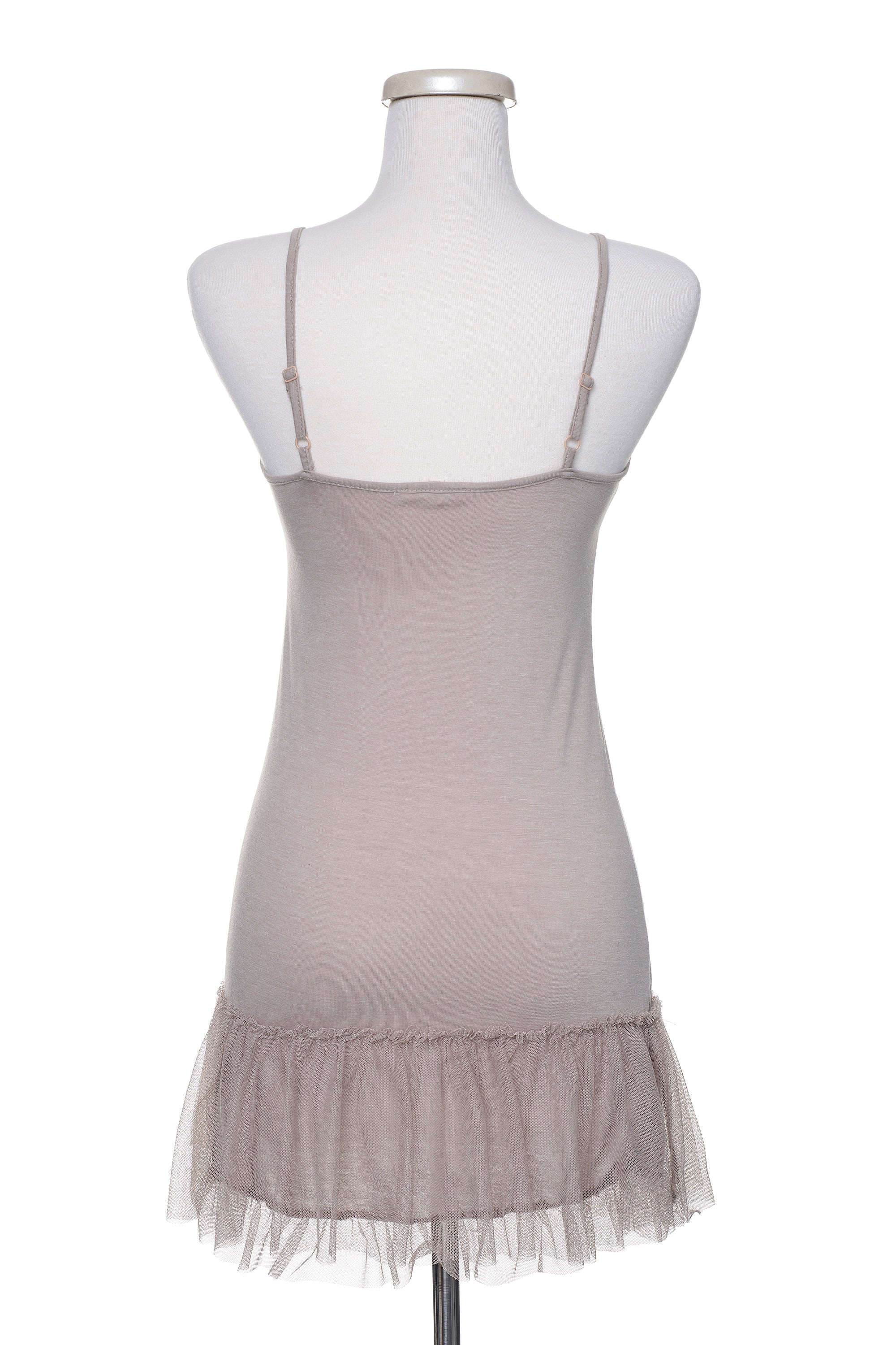 Type 2 Tulle Extender Slip in Taupe