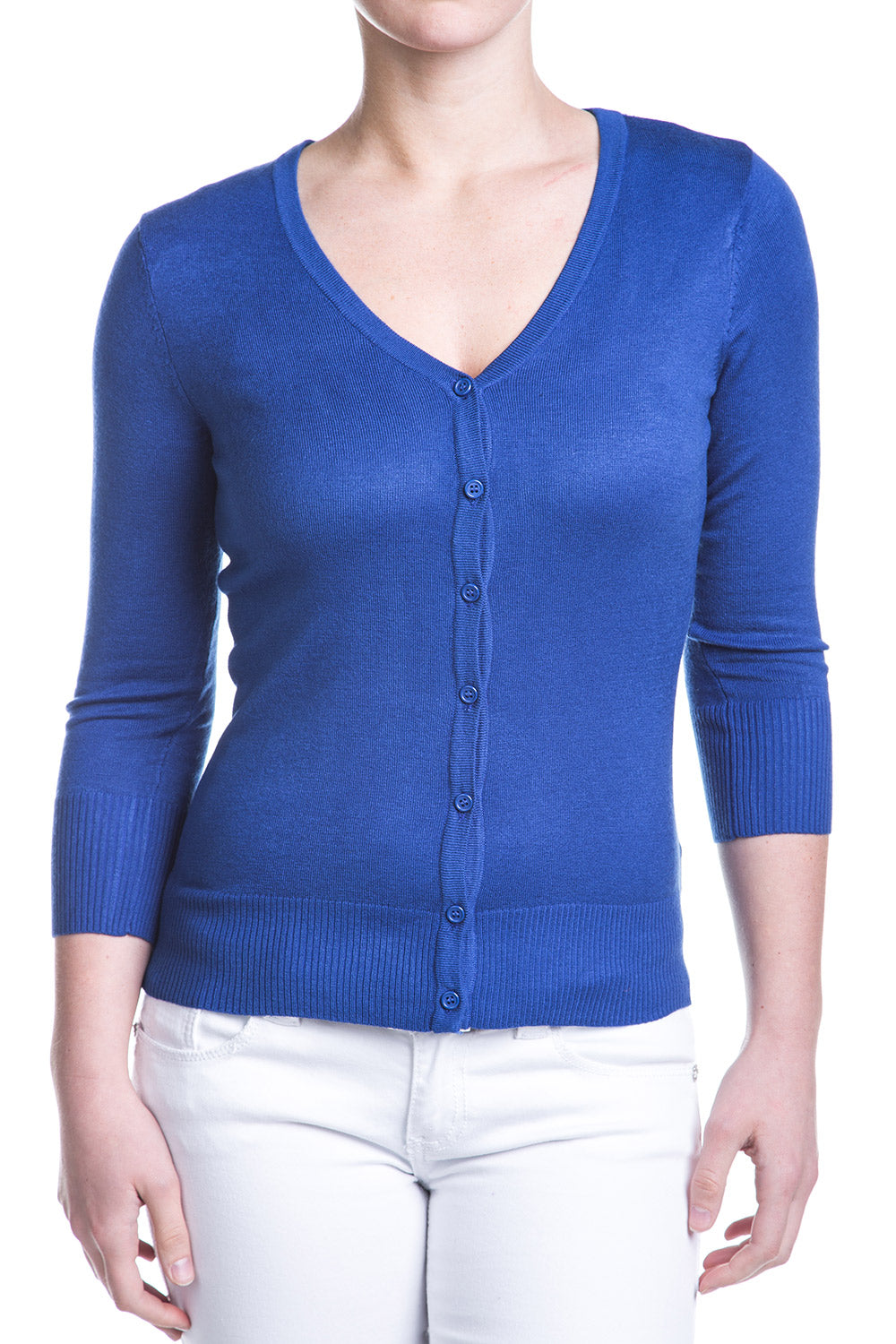 Type 4 Royal Blue Cardigan