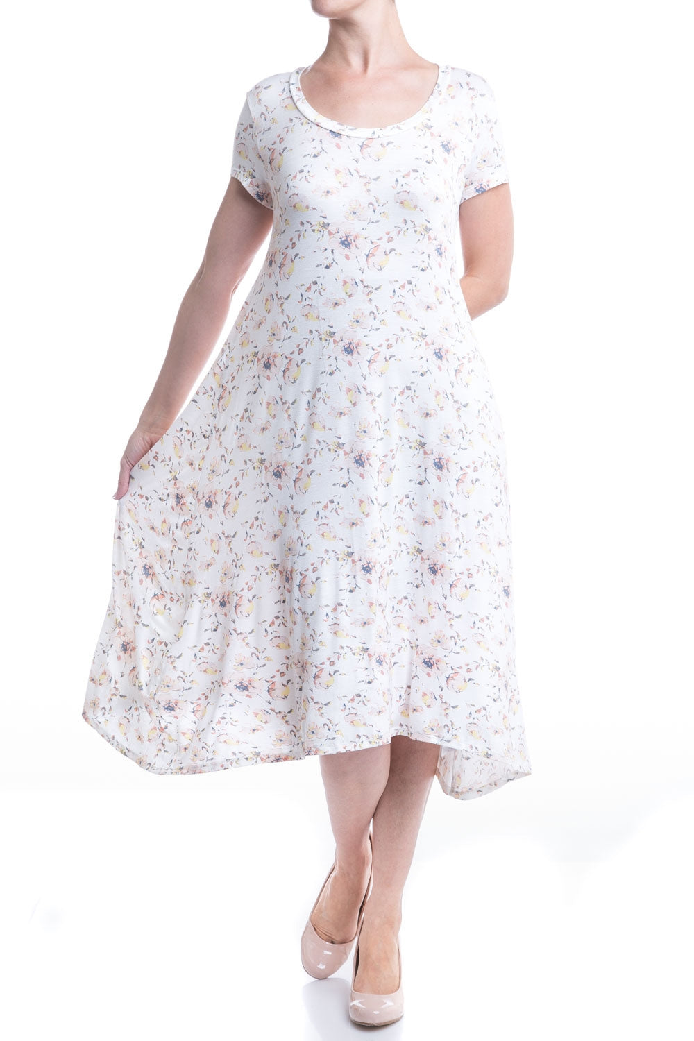 Type 2 Ginger Flower Dress
