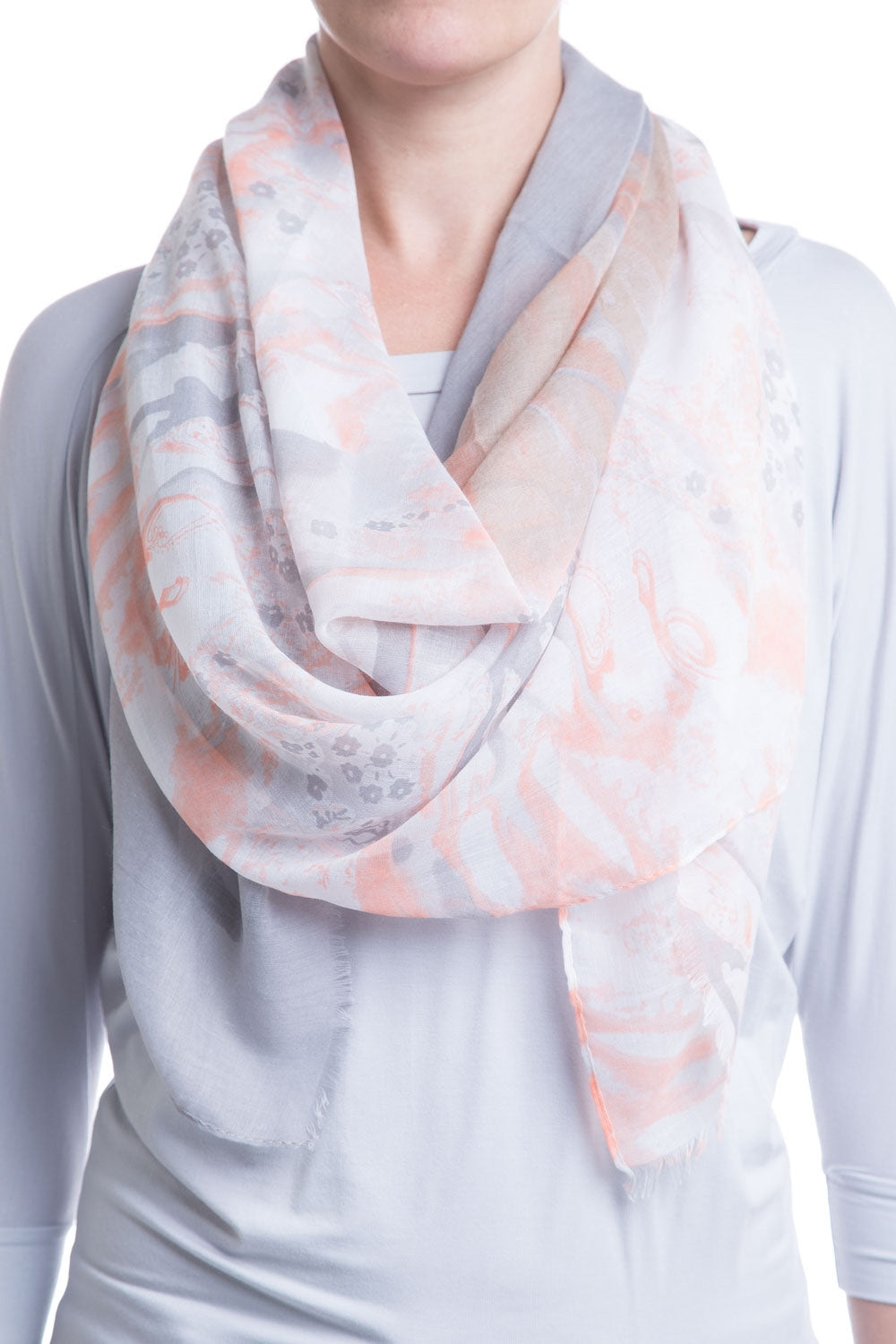 Type 2 Pale Clouds Scarf