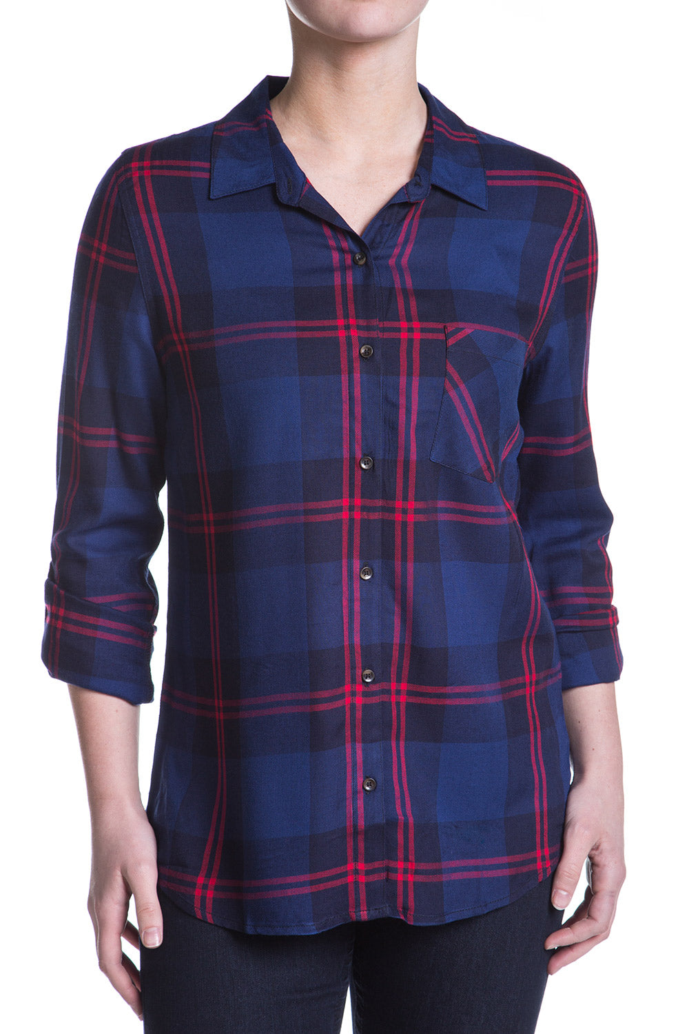 Type 4 Plaid Enough Top
