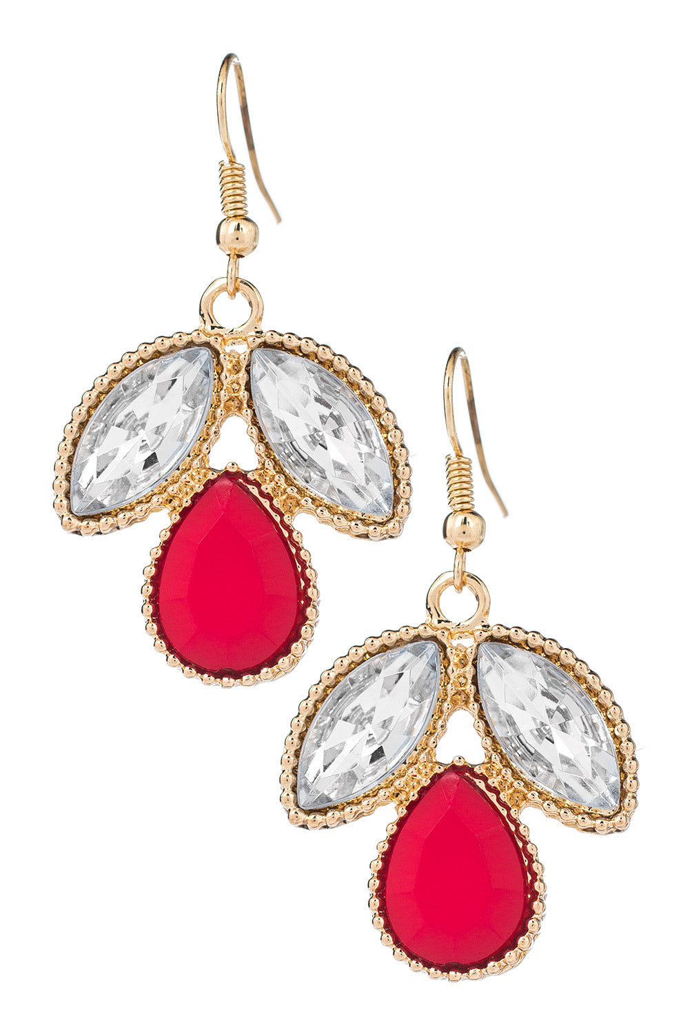 Type 1 Angel In Red Earrings