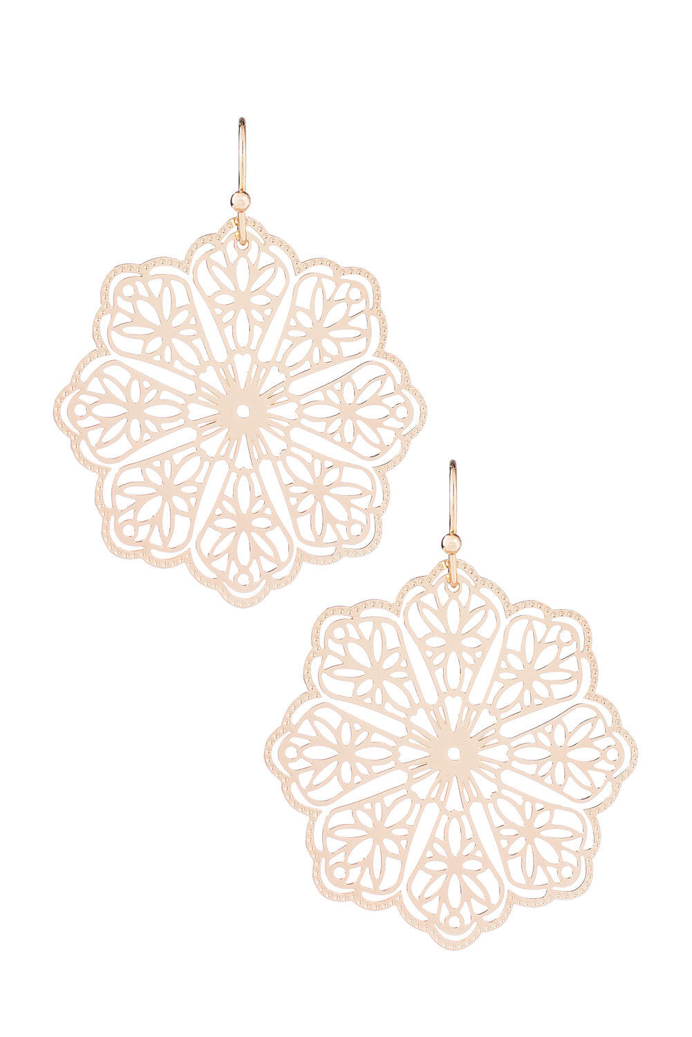 Type 1 Lace Flower Earrings
