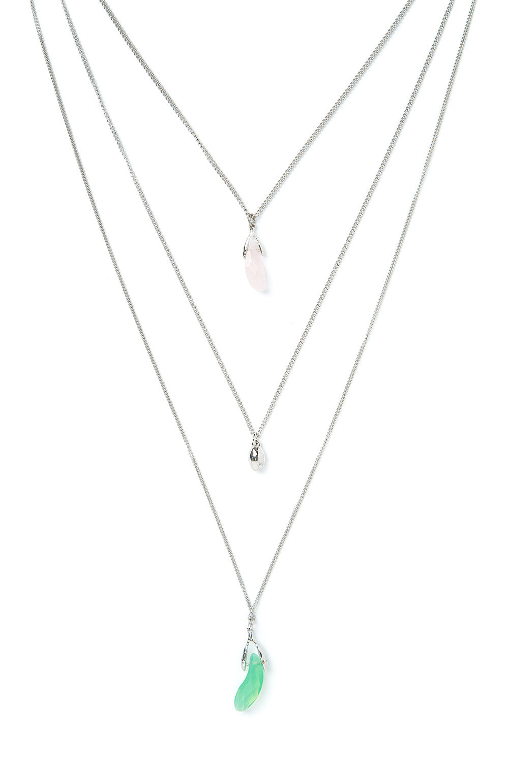 Type 2 Rose Quartz Necklace