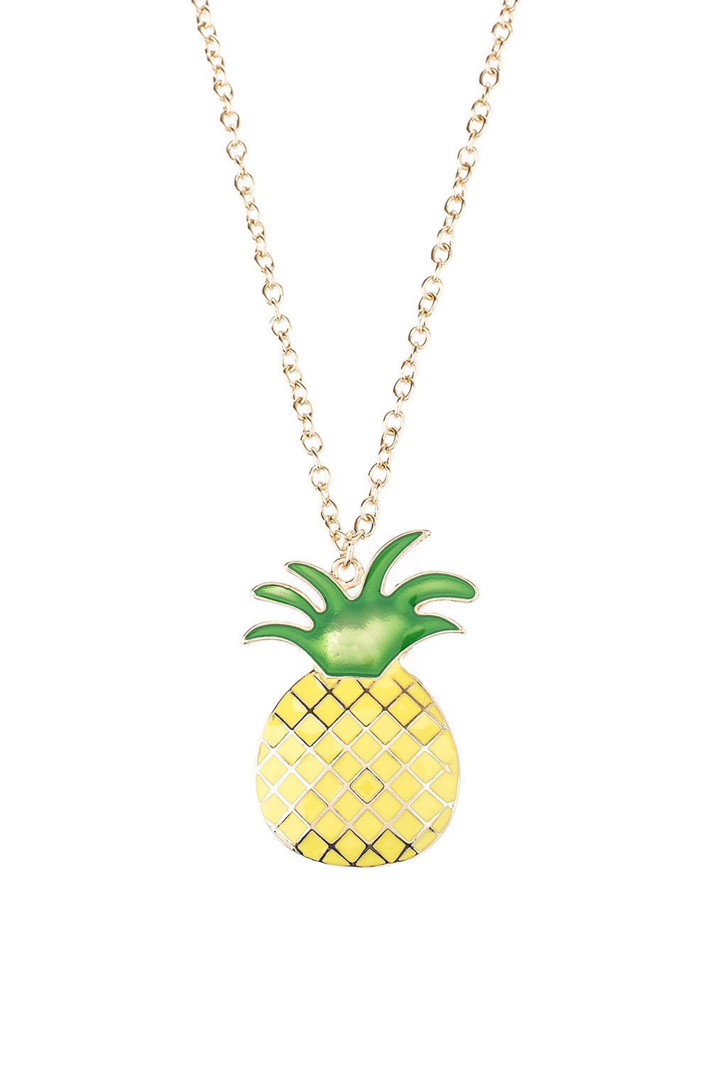 Type 1 Summer Pineapple Necklace