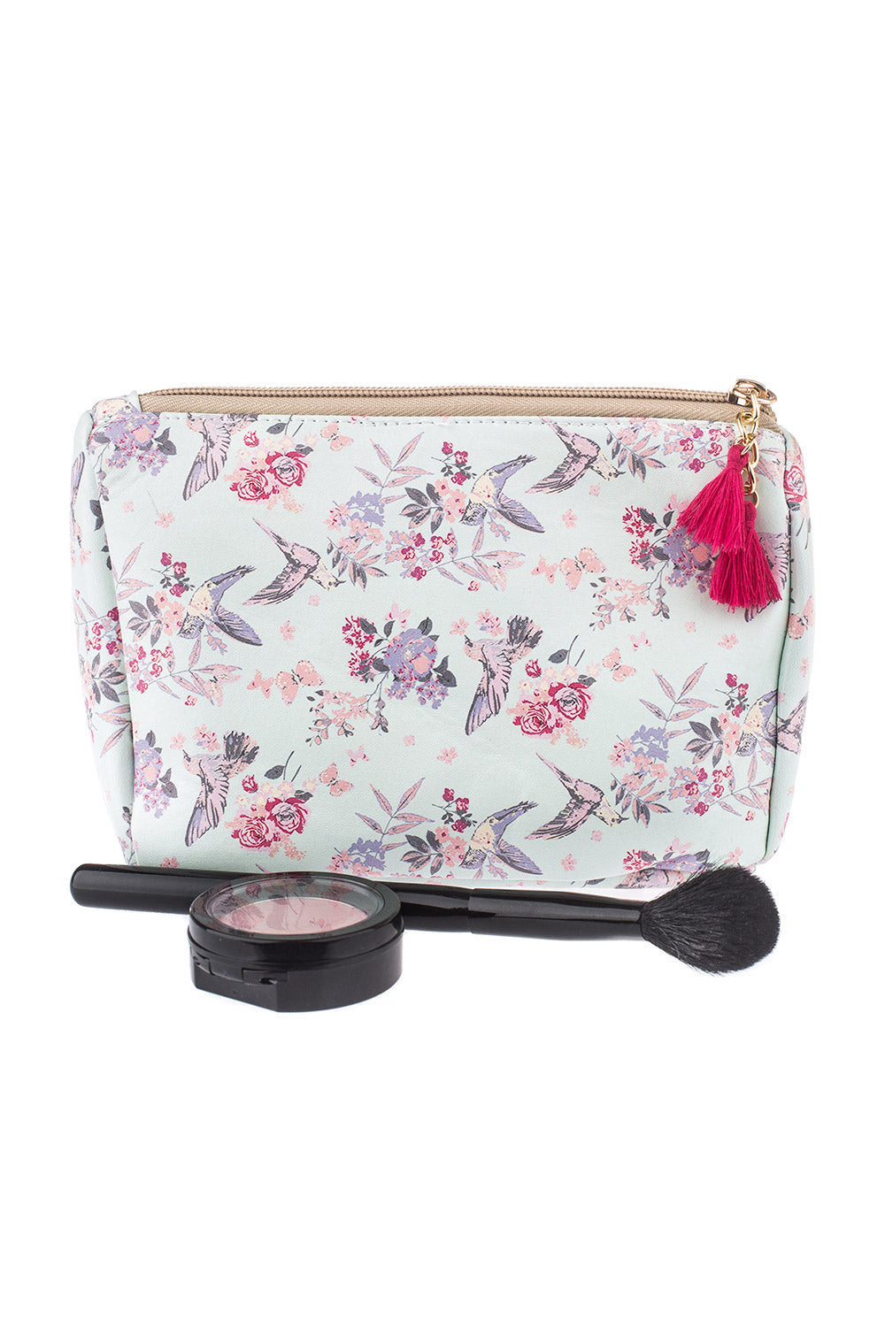 Type 2 Flying Floral Cosmetic Bag