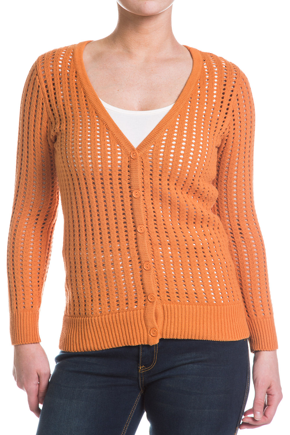 Type 3 Apricot Harvest Sweater