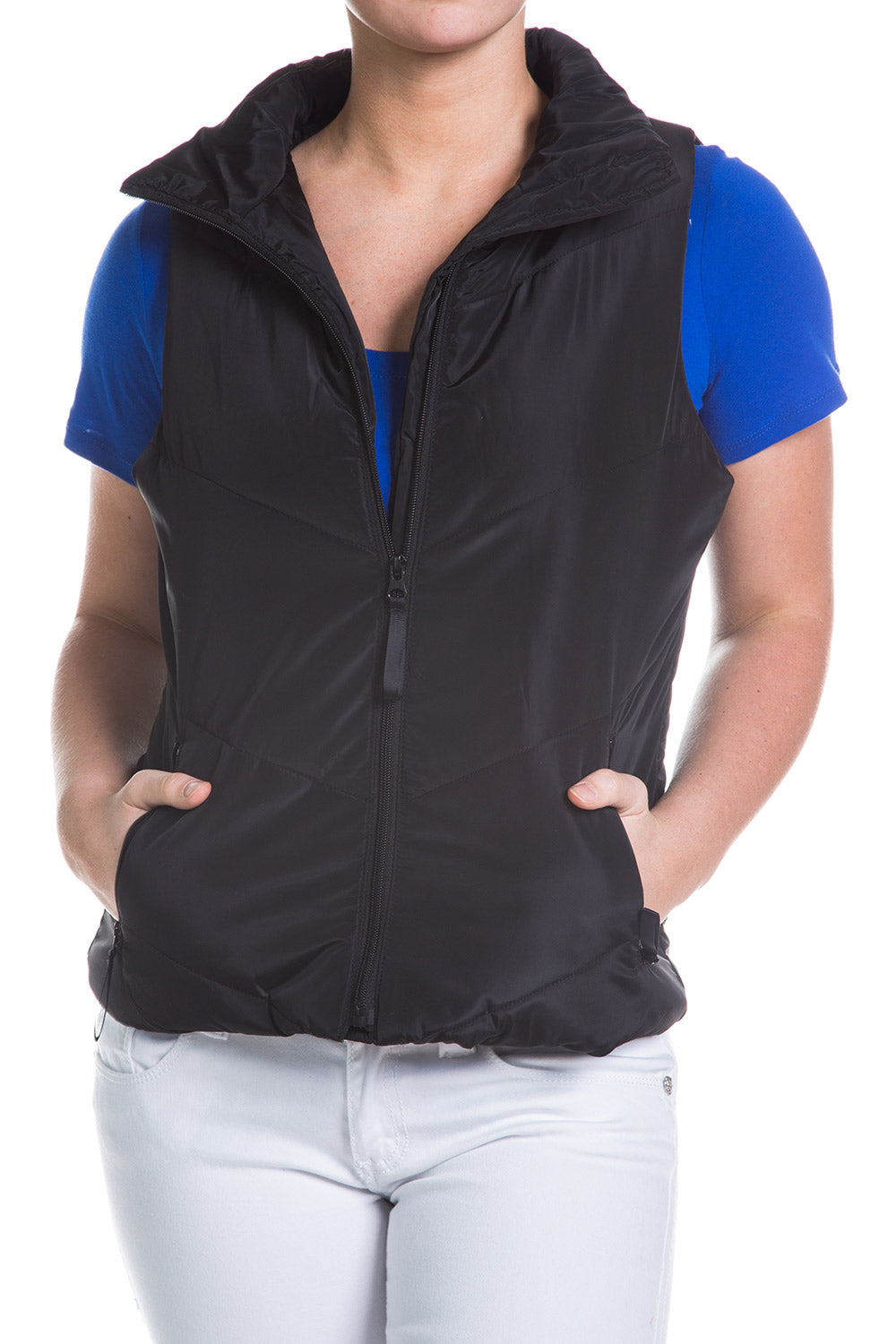 Type 4 Pure Black Vest