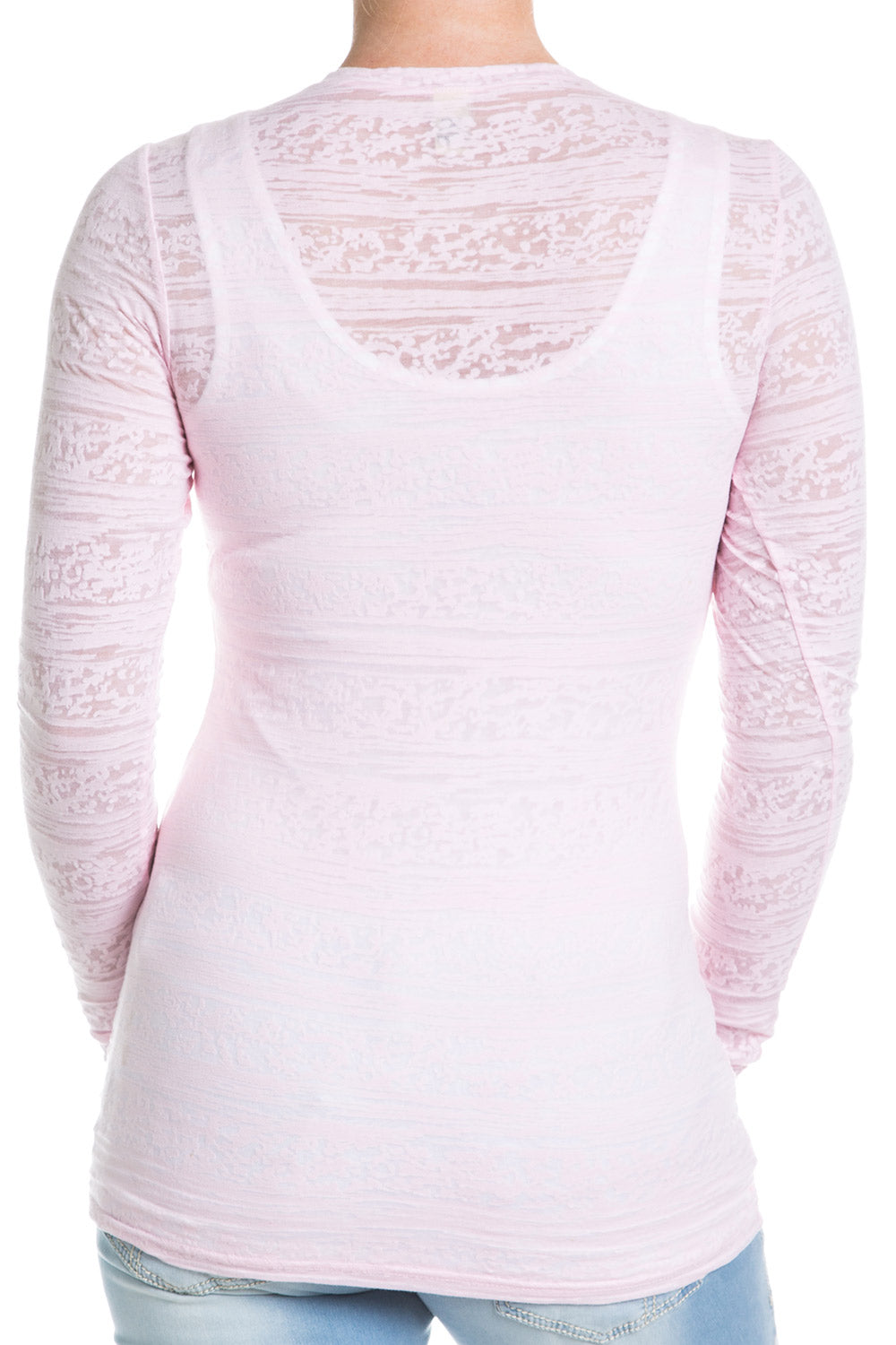 Type 1 Burnout Top In Pink