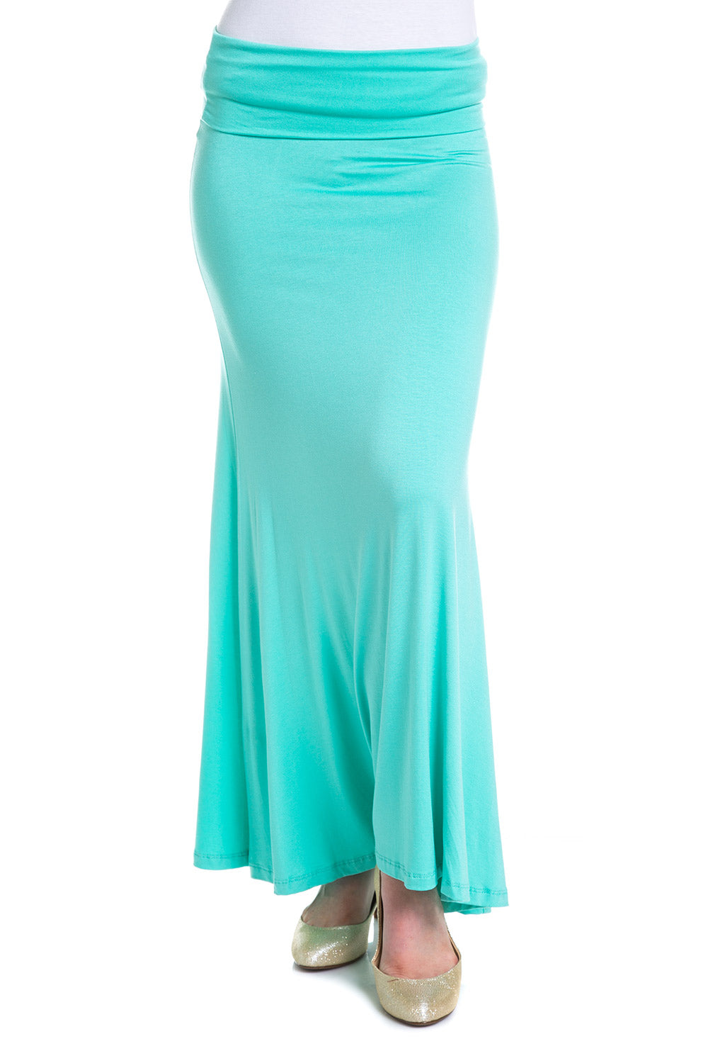 Type 1 Mint Maxi Skirt